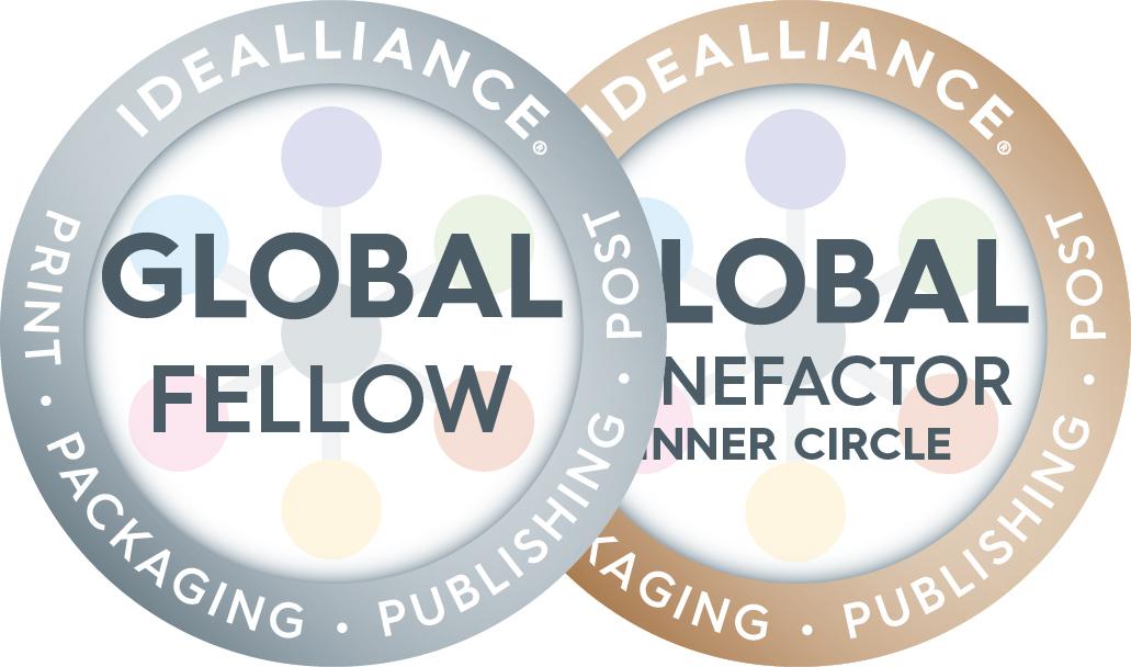 idealliance_fellow and benefactorIC combo badges