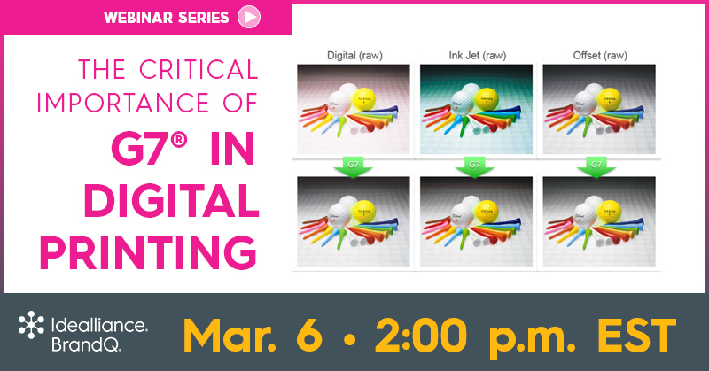 BrandQ® Webinar | The Critical Importance of G7® in Digital Printing