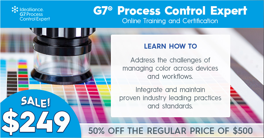 G7® Process Control Expert Online Training and Certification Sale—50% Off the Regular Price