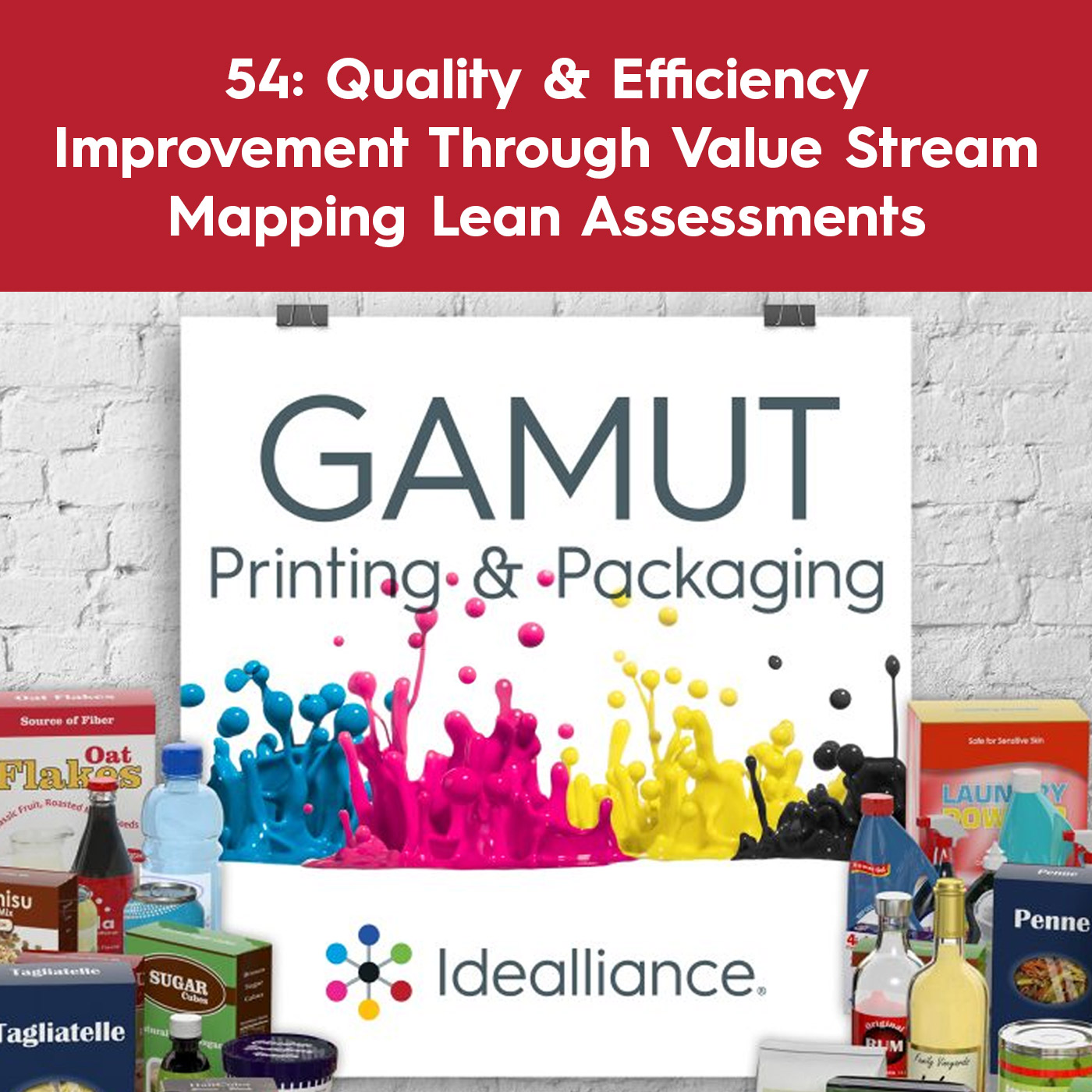Quality & Efficiency Improvement Through Value Stream Mapping Lean Assessments | Gamut Podcast Episode #54