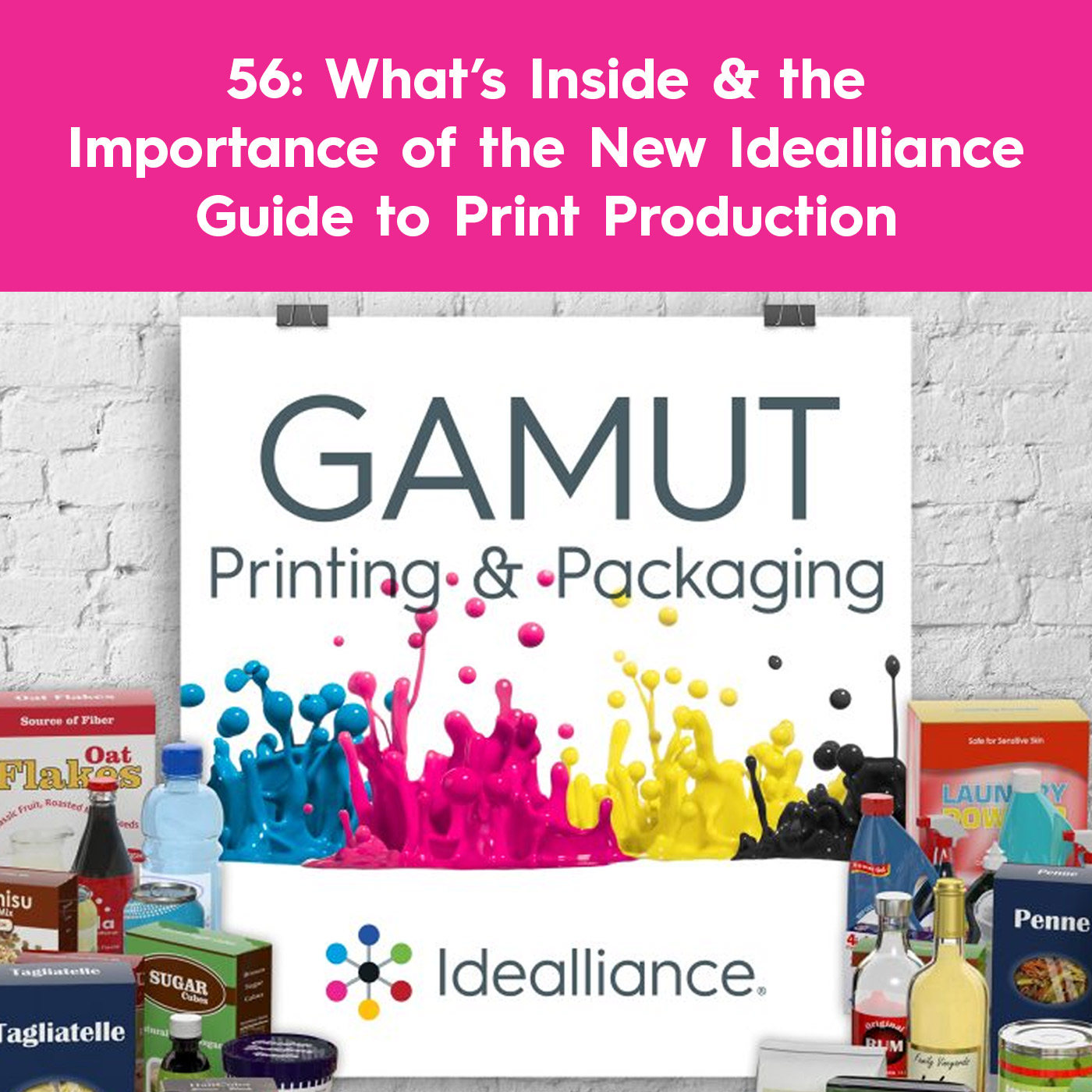 What's Inside & the Importance of the New Idealliance Guide to Print Production | Gamut Podcast #56 by Idealliance