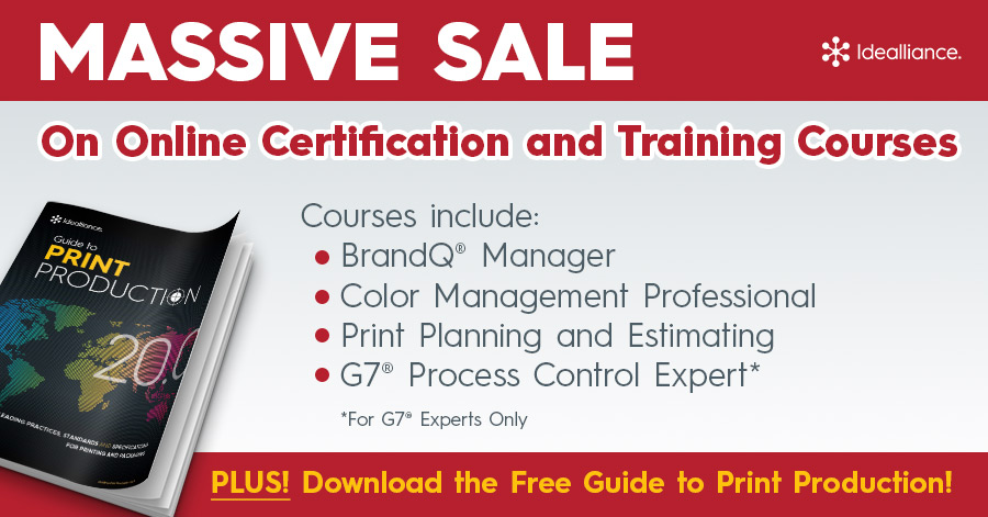 Massive Sale on On Online Certification and Training Courses from Idealliance
