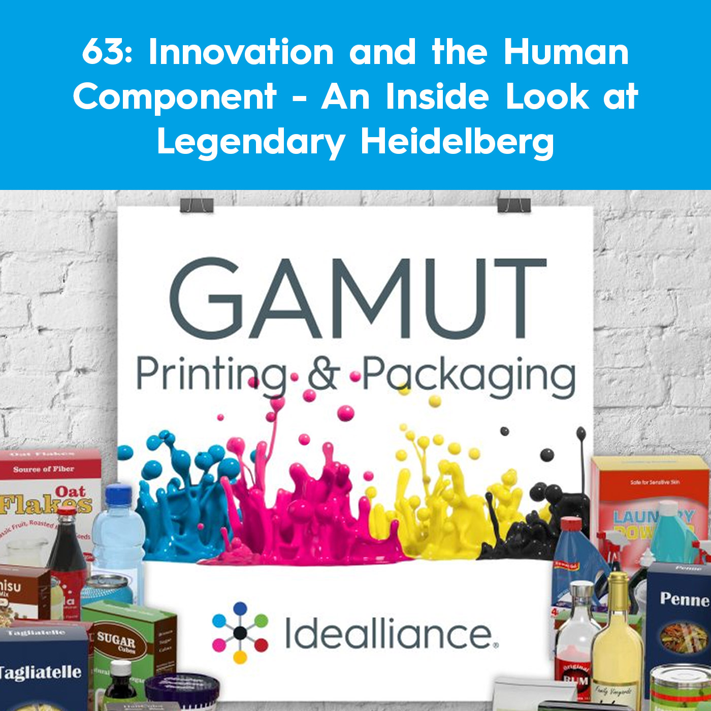 Innovation and the Human Component - An Inside Look at Legendary Heidelberg | GAMUT Podcast #63 from Idealliance