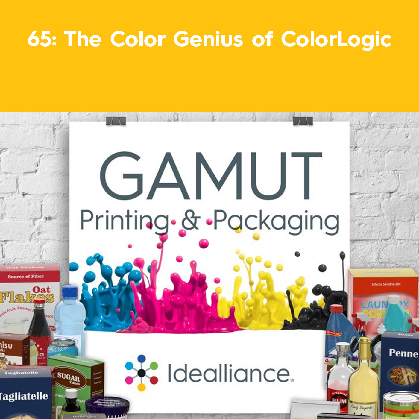 The Color Genius of ColorLogic | GAMUT Podcast Episode #65 by Idealliance