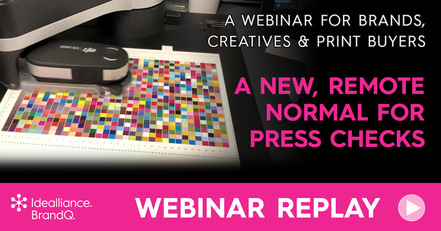 A BrandQ® webinar from Idealliance for brands, creatives, and print buyers.