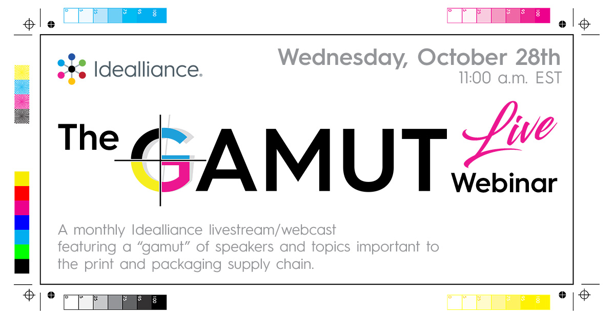 The GAMUT Live Webinar from Idealliance