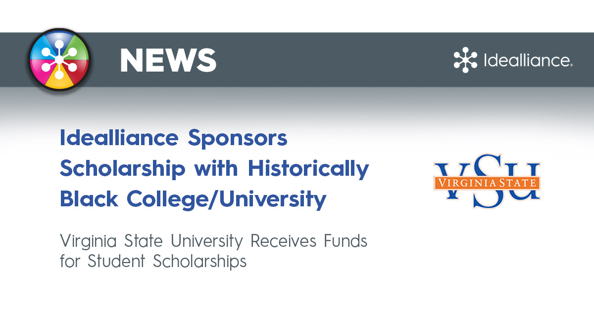Idealliance Sponsors Scholarship with Historically Black College/University