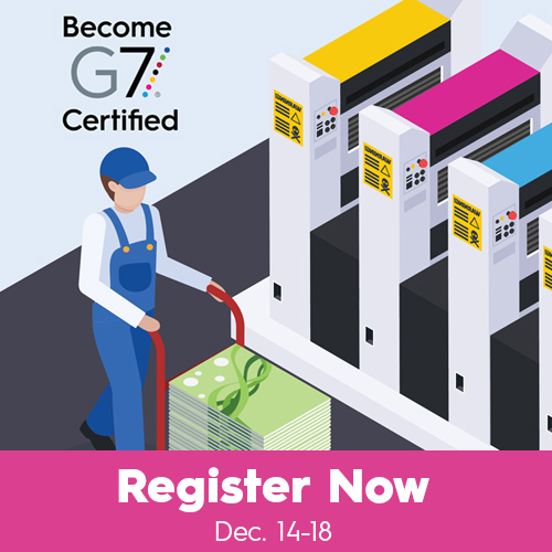 International G7® Expert Certification & Training Live! Online from Idealliance