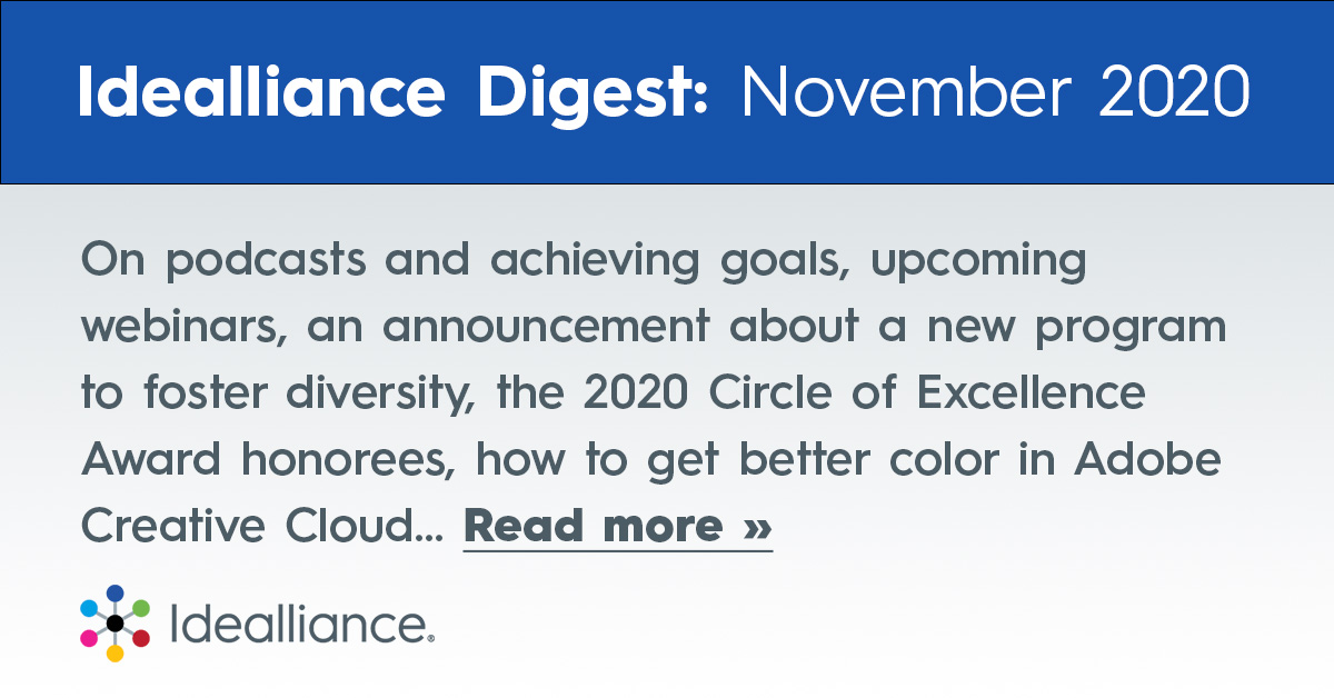 Idealliance Monthly Digest for November 2020 | News and Updates from the Print Industry Association