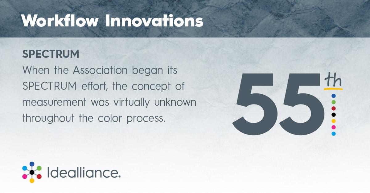 Idealliance Workflow Innovations—SPECTRUM